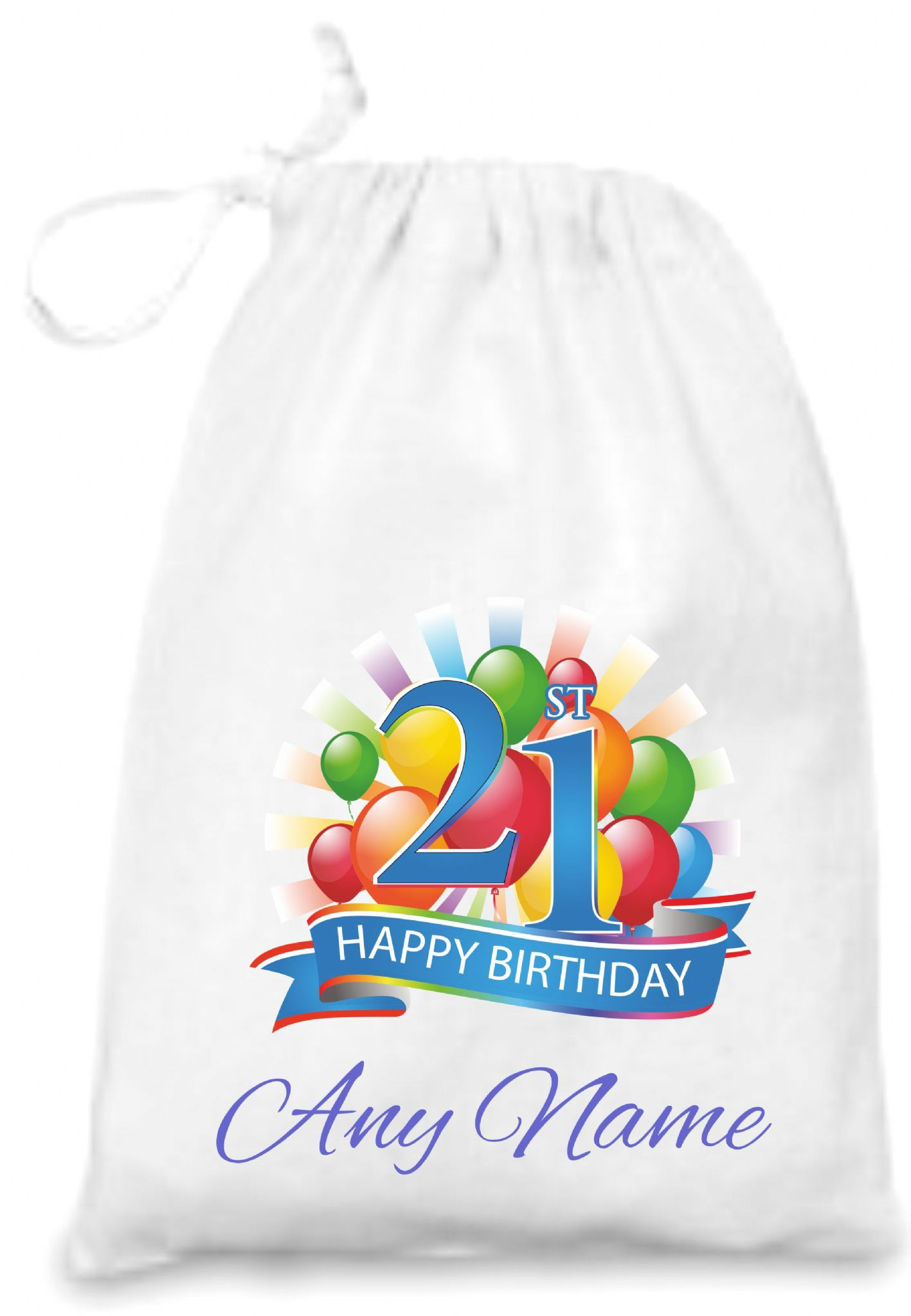 21st Birthday Gift Bag 190991 P
